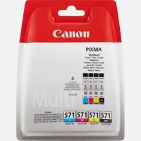 Comparateur de prix Canon Pack Cartouches CLI-571 (Cyan, Magenta, Jaune, Noir Photo)