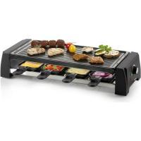 Acheter DOMO DO9189G Appareil à raclette 8 personnes - Noir  au meilleur prix