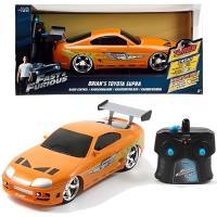 Comparateur de prix Voiture radio commandée Jada Fast and Furios Brian's Toyota Supra Orange