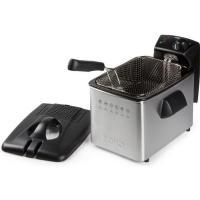 Acheter Domo DO465FR Stainless Steel Deep Fryer, 3000 W, 4 liters au meilleur prix