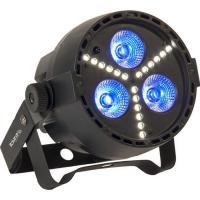 Acheter IBIZA PAR-MINI-STR Projecteur par a led rgbw 4 en 1 avec stroboscope à led smd - Noir  au meilleur prix