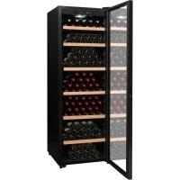 Acheter LA SOMMELIERE CTV249 Cave à vin de vieillissement 248 bouteilles noire porte vitrée double vitrage avec traitement anti-UV au meilleur prix