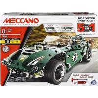 Acheter MECCANO - Le Cabriolet 5 en 1 - Rétro friction - Jeu de construction  au meilleur prix