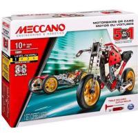 MECCANO Voiture et moto - 5 modèles