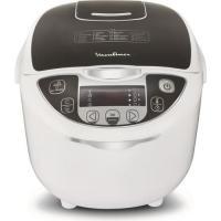 Comparateur de prix Moulinex MK708E10 - Multicuiseur - 5 litres - 750 Watt - blanc/gris