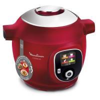 Moulinex Cookeo + CE85B510 - Multicuiseur - 6 litres - 1600 Watt - rouge