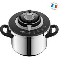 Acheter SEB P4221417 Autocuiseur Cocotte minute NUTRICOOK®+ - Capacité 8L - inox - Tous feux dont induction - Fabriqué en France  au meilleur prix