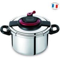 Acheter Tefal CLIPSO PLUS - Autocuiseur - 8 litres - Gris blanc/noir au meilleur prix
