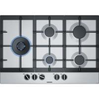 Acheter SIEMENS EC7A5SB90 Plaque de cuisson gaz - 5 foyers - 12500W max - L75 x P52cm - Revêtement inox - Inox  au meilleur prix