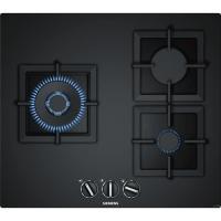Acheter SIEMENS EP6A6CB20 Table de cuisson gaz - 3 foyers - 8000W max - L59 x P52cm - Revêtement verre - Coloris noir  au meilleur prix