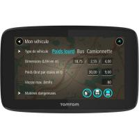 Acheter TomTom GPS Poids Lourds GO Professional 520 - 5 pouces, Cartographie Europe 49, Trafic via Smartphone au meilleur prix
