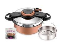 Comparateur de prix Autocuiseur SEB ClipsoMinut Duo Copper 5L