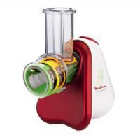 Comparateur de prix Moulinex Fresh Express DJ753510 3 in 1 - Râpe électrique - 200 Watt - Rouge rubis