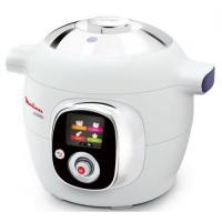 Comparateur de prix MOULINEX CE704110 Multicuiseur intelligent Cookeo avec 100 recettes préprogrammées - 6 L - Blanc