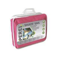 Acheter Perel 06623 voile d'ombrage triangle rose 3,6 x 3,6 m au meilleur prix