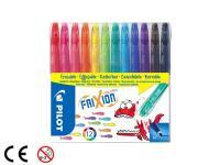 Comparateur de prix PILOT - Feutres de coloriage effacable - Pochette Frixion Colors - x12 - Coloris assortis