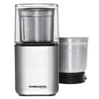 Acheter Rommelsbacher EGK 200 & Moulin à café à épices électrique/2 cuve Inox avec interchangeables frappe Couteau & spécial Couteau/200 W/acier inoxydable au meilleur prix