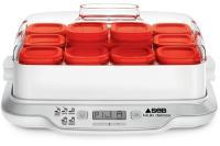 Acheter SEB YG661500 Yaourtière Multidélices Express - 5 modes - 12 pots - 4/6 personnes - Blanc et rouge  au meilleur prix
