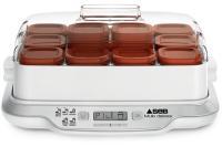 Acheter SEB YG661A00 YAOURTIERE MULTIDELICES Capacité : 12 pots. 5 modes différents : yaourts express et yaourts, desserts lactés  au meilleur prix