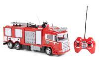 Comparateur de prix World Tech Toys- Camion de Pompier radiocommandé, 34980, Rouge
