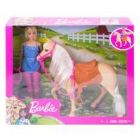 Acheter BARBIE Barbie et son Cheval  au meilleur prix
