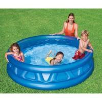 Acheter INTEX Piscine Gonflable Enfant et famille ronde 188 x 46 cm Soft Side Pool au meilleur prix