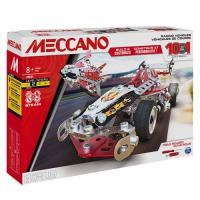 Acheter Jeu de construction Meccano Véhicules de course 10 modèles au meilleur prix