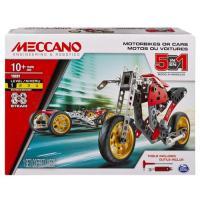 Acheter MECCANO Voiture et moto - 5 modèles  au meilleur prix