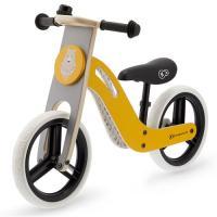 Acheter Kinderkraft Vélo Draisienne en bois UNIQ - 12 pouces - à partir de 2 ans - Couleur Jaune  au meilleur prix