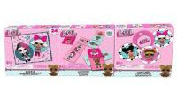 Acheter L.O.L SURPRISE - 3 jeux : 54 cartes, puzzle et dominos  au meilleur prix
