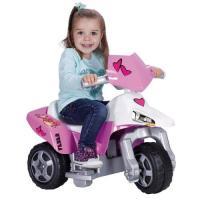 Acheter FEBER Sweety - Moto électrique à 3 roues pour enfants de 3 à 7 ans, 6v, Rose (Famosa 800012227) au meilleur prix
