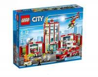LEGO® City 60110 La caserne des pompiers