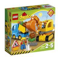 Acheter Lego Duplo - Le Camion Et La Pelleteuse - 10812 au meilleur prix
