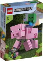 Acheter LEGO® Minecraft´ 21157 Bigfigurine cochon et bébé zombie au meilleur prix