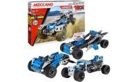 Comparateur de prix Meccano , Voiture de rallye à construire 10 en 1 de la gamme S.T.I.M avec roues et pièces mobiles