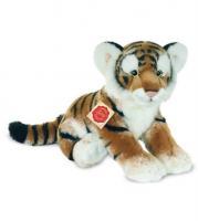 Acheter Peluche tigre brun assis 32 cm au meilleur prix
