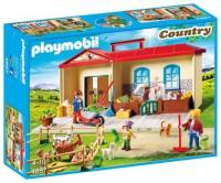 Acheter Playmobil 4897 - Ferme Transportable au meilleur prix