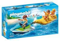 Acheter Playmobil Family Fun 6980 Vacanciers avec jet-ski et banane au meilleur prix