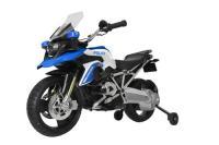 Acheter Rollplay Moto de Police Electrique BMW R1200 GS pour Enfants, 3-6 Ans, Jusqu'à 4 km/h, Batterie 6V, Feux Bleus, Son de Sirène, Bleu au meilleur prix