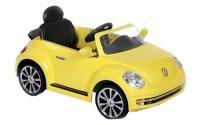 Comparateur de prix Rollplay Voiture Électrique avec Fonction Marche Arrière, À partir de 3 Ans, Jusqu'à 35 kg, Batterie 6 Volts, Jusqu'à 4 km/h, VW Coccinelle, Jaune