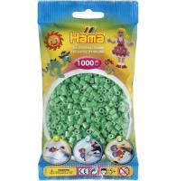 Acheter Sachet de 1000 perles a repasser hama midi vert clair - loisirs creatifs - 207-11 au meilleur prix