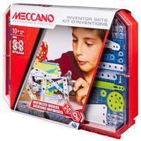 Acheter Set 5 kits d'inventions Meccano au meilleur prix