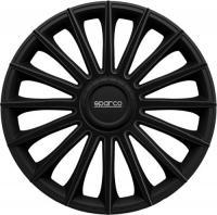 Acheter Jeu d'enjoliveurs Sparco Torino 15-inch noir au meilleur prix