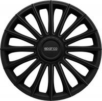 Acheter Sparco enjoliveurs Torino 14 pouces ABS noir lot de 4 au meilleur prix