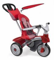 Tricycle évolutif Baby Trike Easy Evolution - Rouge - FEBER - avec clavier musical