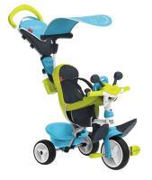Acheter SMOBY Tricycle Baby Driver Confort Evolutif Bleu  au meilleur prix