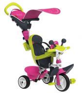 Acheter SMOBY Tricycle Baby Driver Confort Evolutif Rose  au meilleur prix