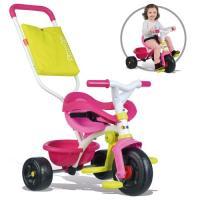 Acheter SMOBY Tricycle Enfant Evolutif Be Fun Confort Rose  au meilleur prix