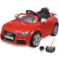 Acheter vidaXL Voiture électrique pour enfant Audi TT RS rouge avec télécommande au meilleur prix