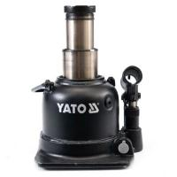 Yato YT-1713-Cric hydraulique 10t Piston en Deux étapes Low Profile
